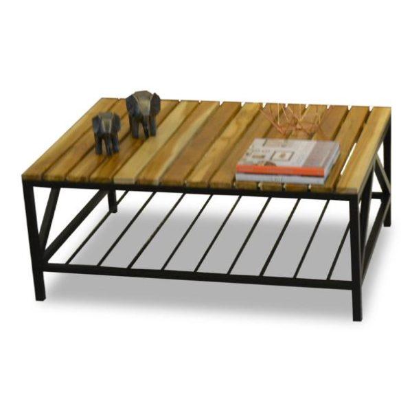 mesa de centro industrial hierro