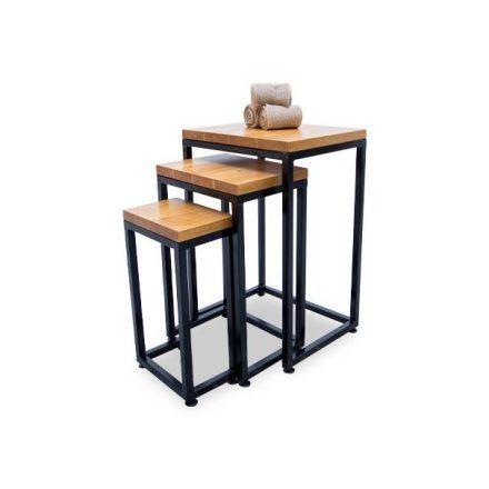 set de mesas triada hierro